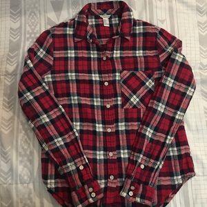 Forever 21 flannel long sleeve
